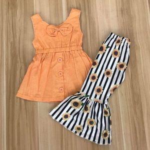 Sunflower 🌻 Cute Pants Set